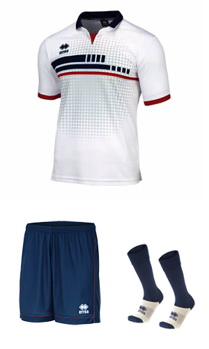 ERREA ROBERT SET - WHITE & NAVY