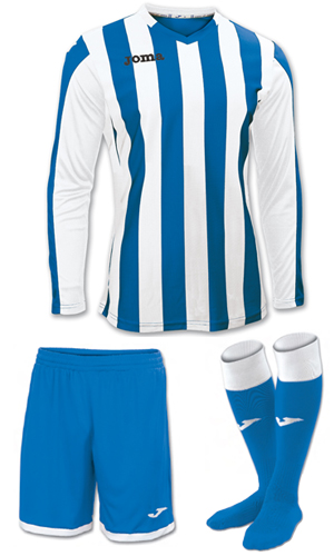 Joma Copa LS Kit-BLUE&WHITE