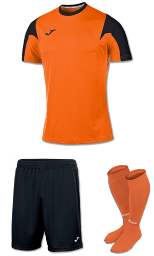 Joma Estadio SS Kit-ORANGE & BLACK