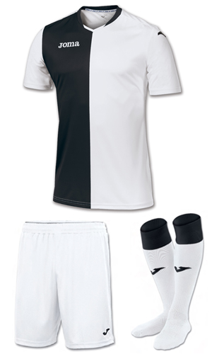 Joma Premier Kit-BLACK & WHITE