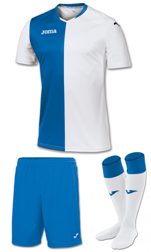 Joma Premier Kit-BLUE & WHITE