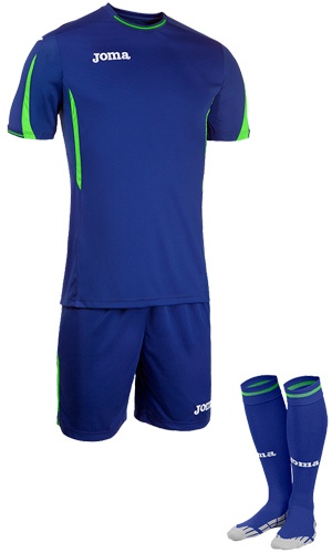 JOMA ROMA GK SET SS- BLUE & GREEN