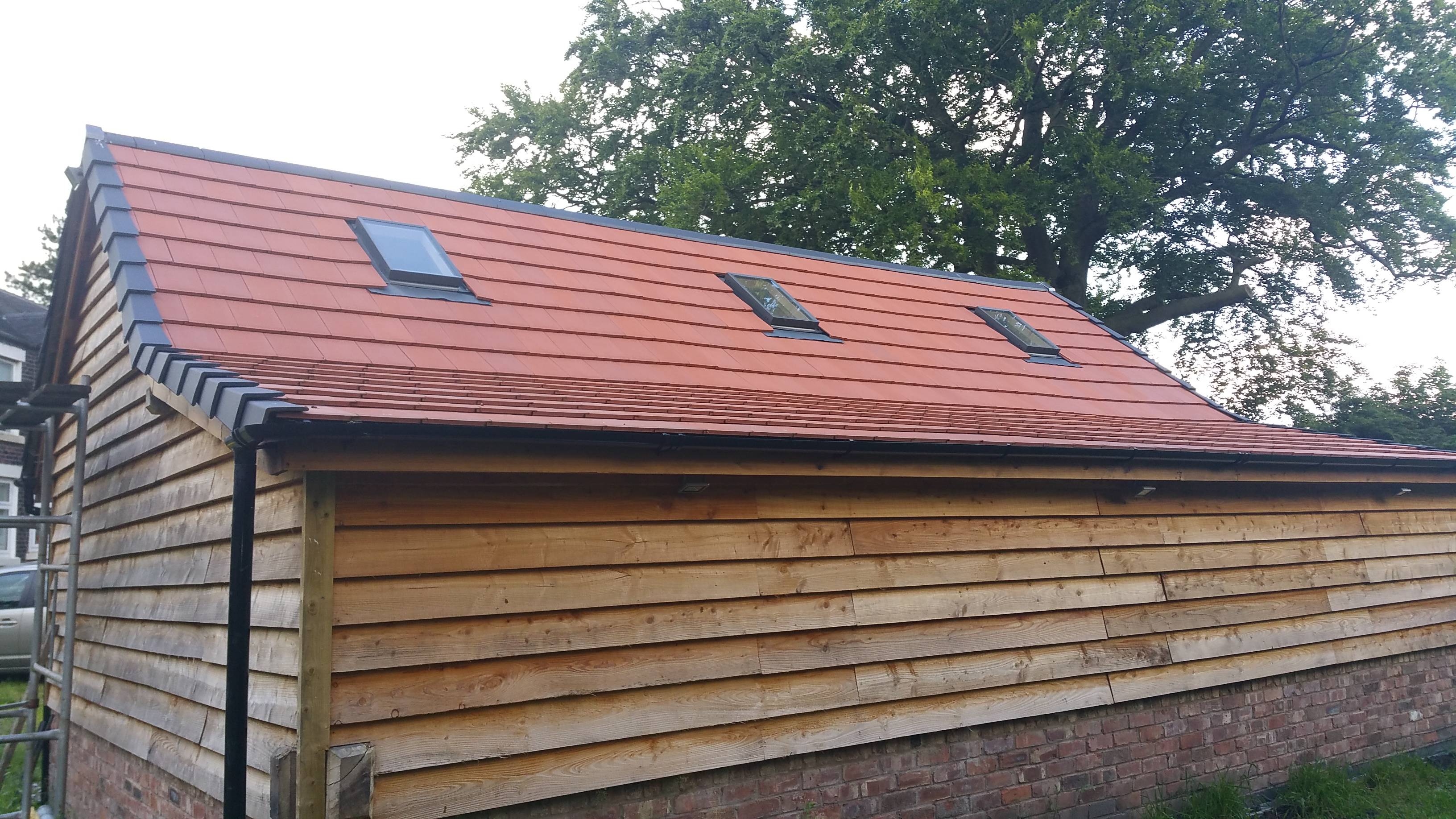 Verea clay roof tile, 50 year Guarantee