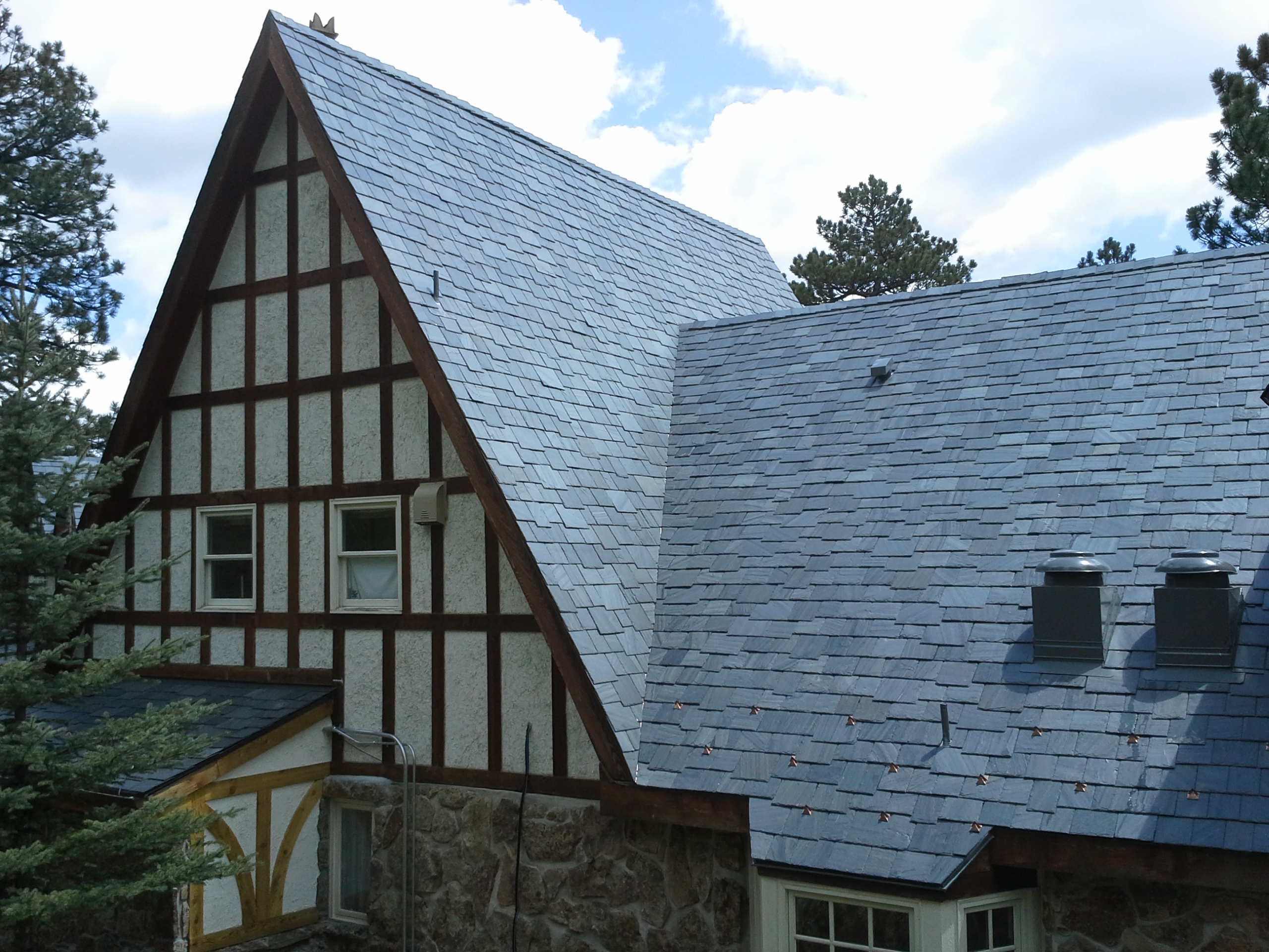 Galex Cabrera slate, bespoke roof slate and fixing