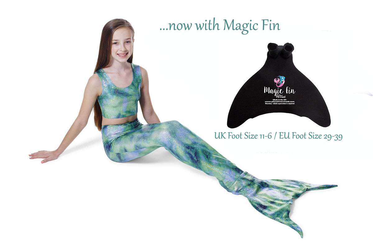 Celtic Mist Mermaid Tail
