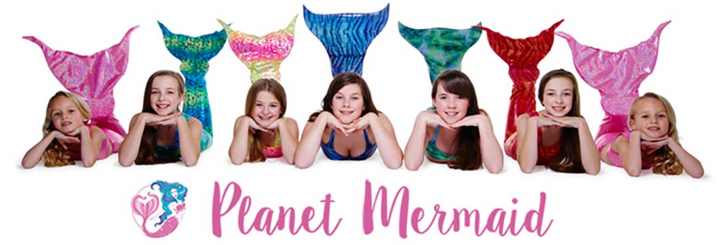 Mermaidens and their fun Magic Fin Monofins from Planet Mermaid UK