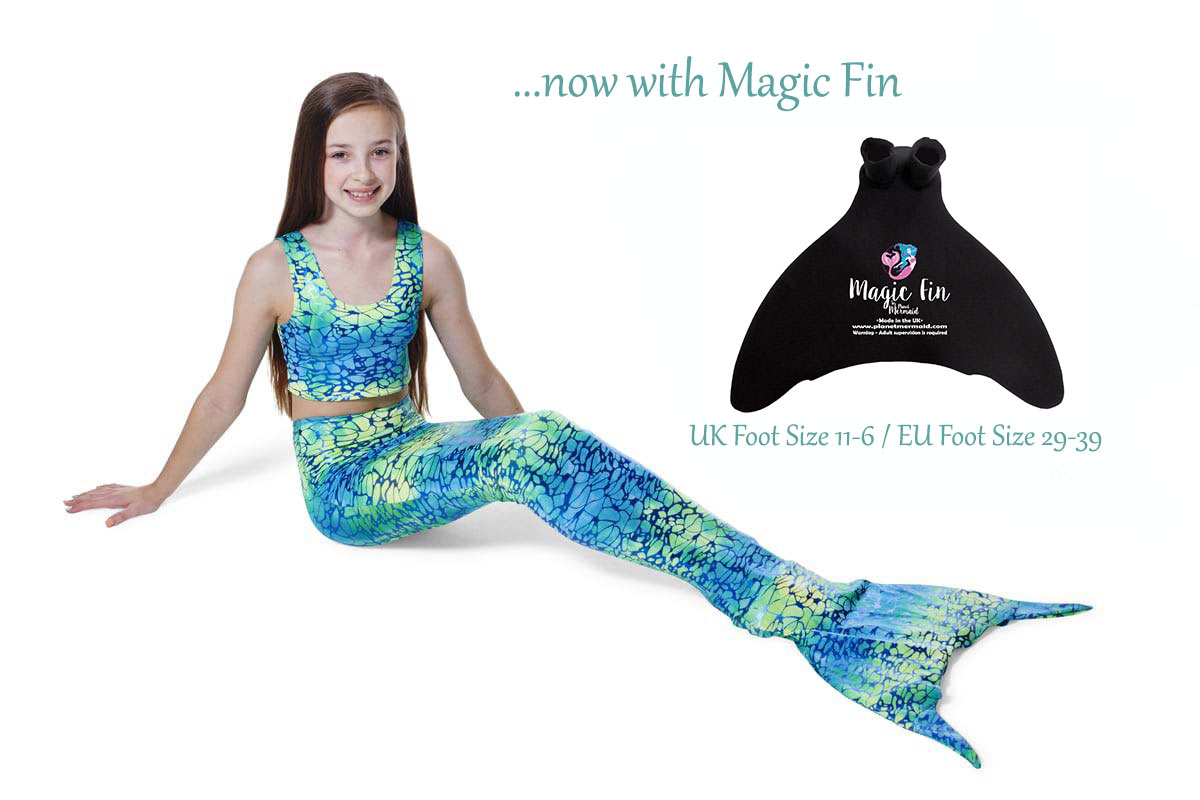 Ocean Breeze Mermaid Tail from Planet Mermaid