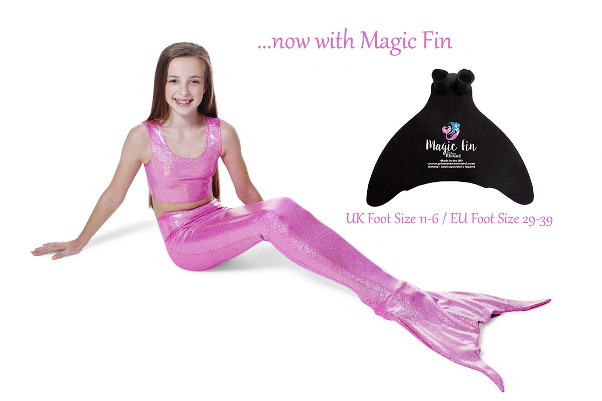 Princess Pink Mermaid Tail