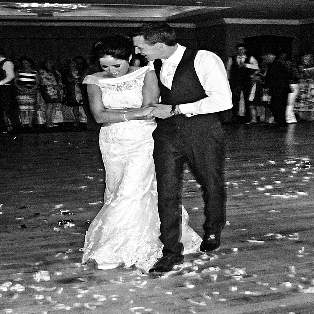Wedding DJ Bride & Groom 1st Wedding Dance picture