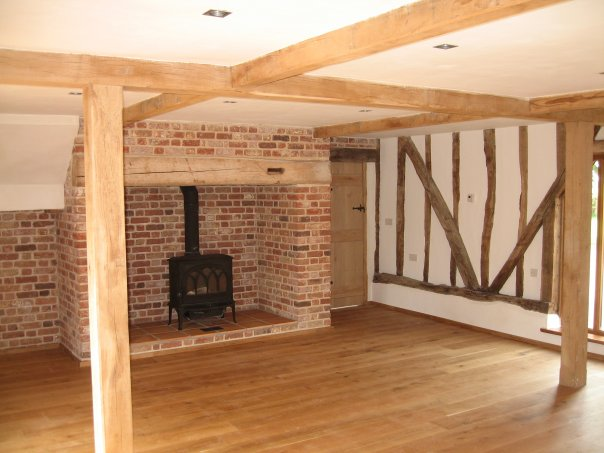 Spexhall Barn, Lounge.