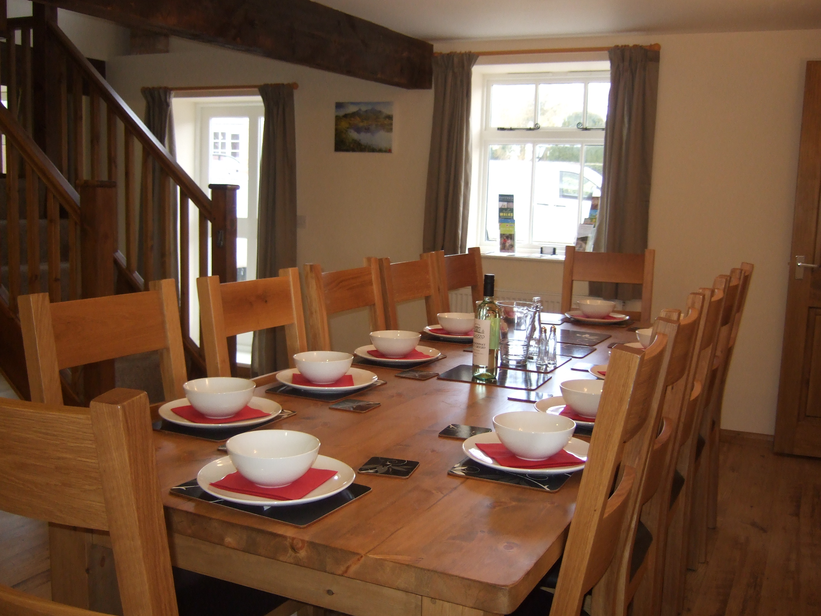 Olivers Mill Dinning Table Seats 10