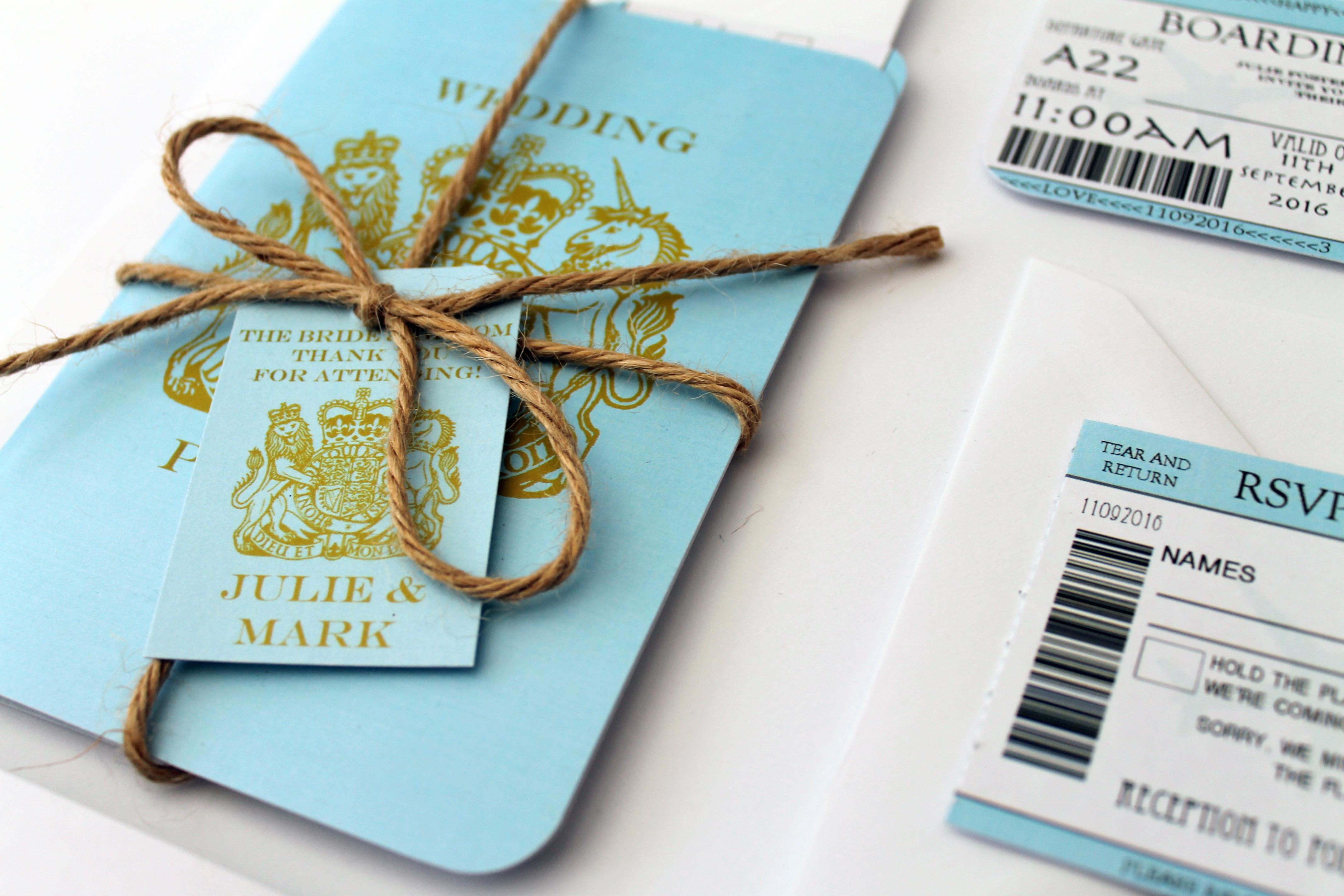 style Travel Wedding Invitation and RSVP setDestination wedding – Destination Wedding Invitations Passport