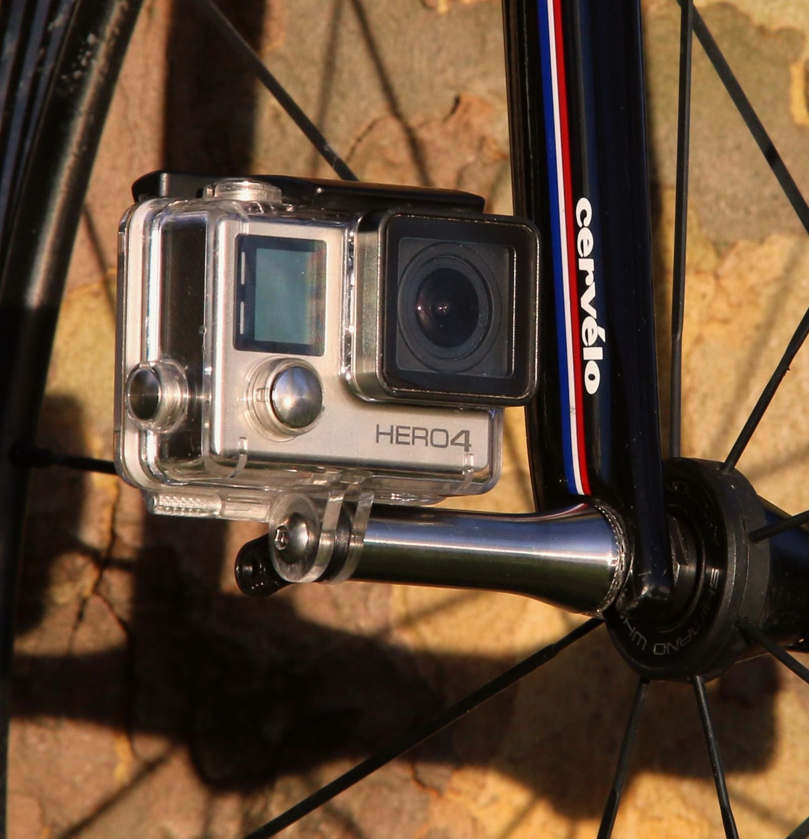 NUT-R® Bicycle Axle Camera Mount™