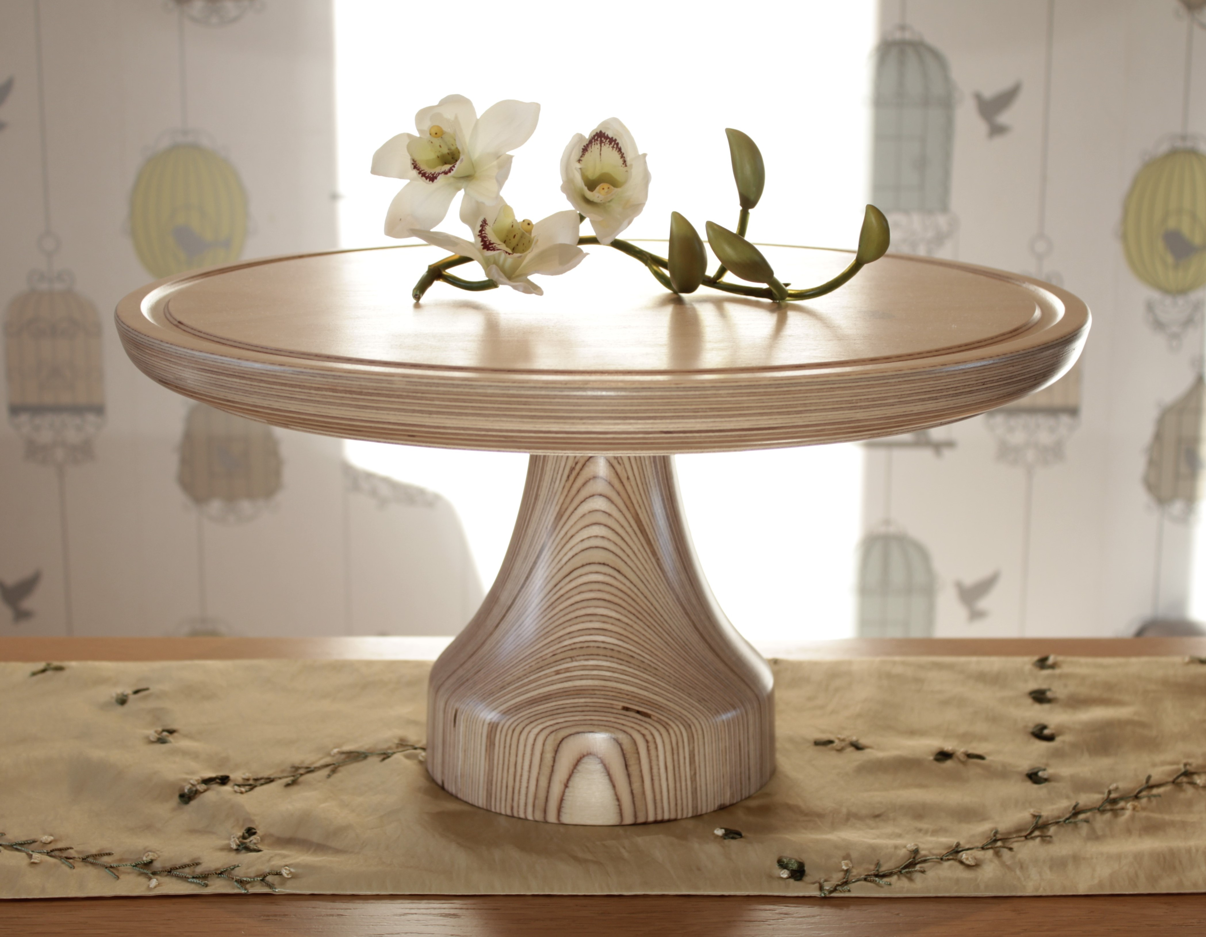 "Ideal for a Wedding cake, or other celebration, birthday, anniversary. To fit 16"" cake board. 46.5cm (18.3"") across. 24cm (9.5"") tall"