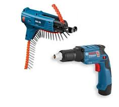 BOSCH GSR108V-ECTE 10.8V DRYWALL SCREWDRIVER KIT 2 X 2.5AH