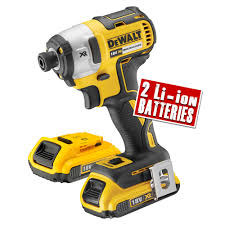 DEWALT DCF887D2 XR 18V 3 SPEED BRUSHLESS IMPACT DRIVER (2X2.0AH)