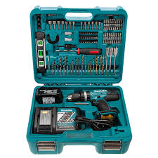 MAKITA DHP453RFTK 18V COMBI KIT WITH 101 PIECE ACCESSORY KIT