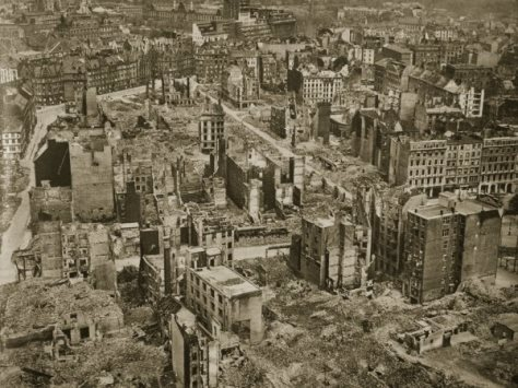 Ww2 for How many homes were destroyed in germany in ww2