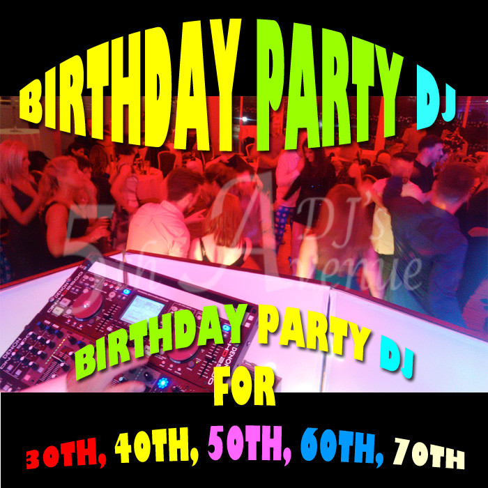 Birthday party DJ's in Clontarf, dublin 3.