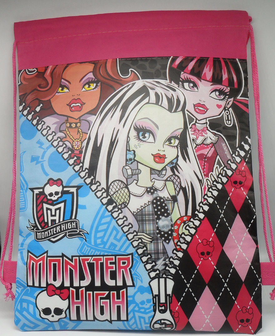 db9b63dacda Gymtas / zwemtas Monster High