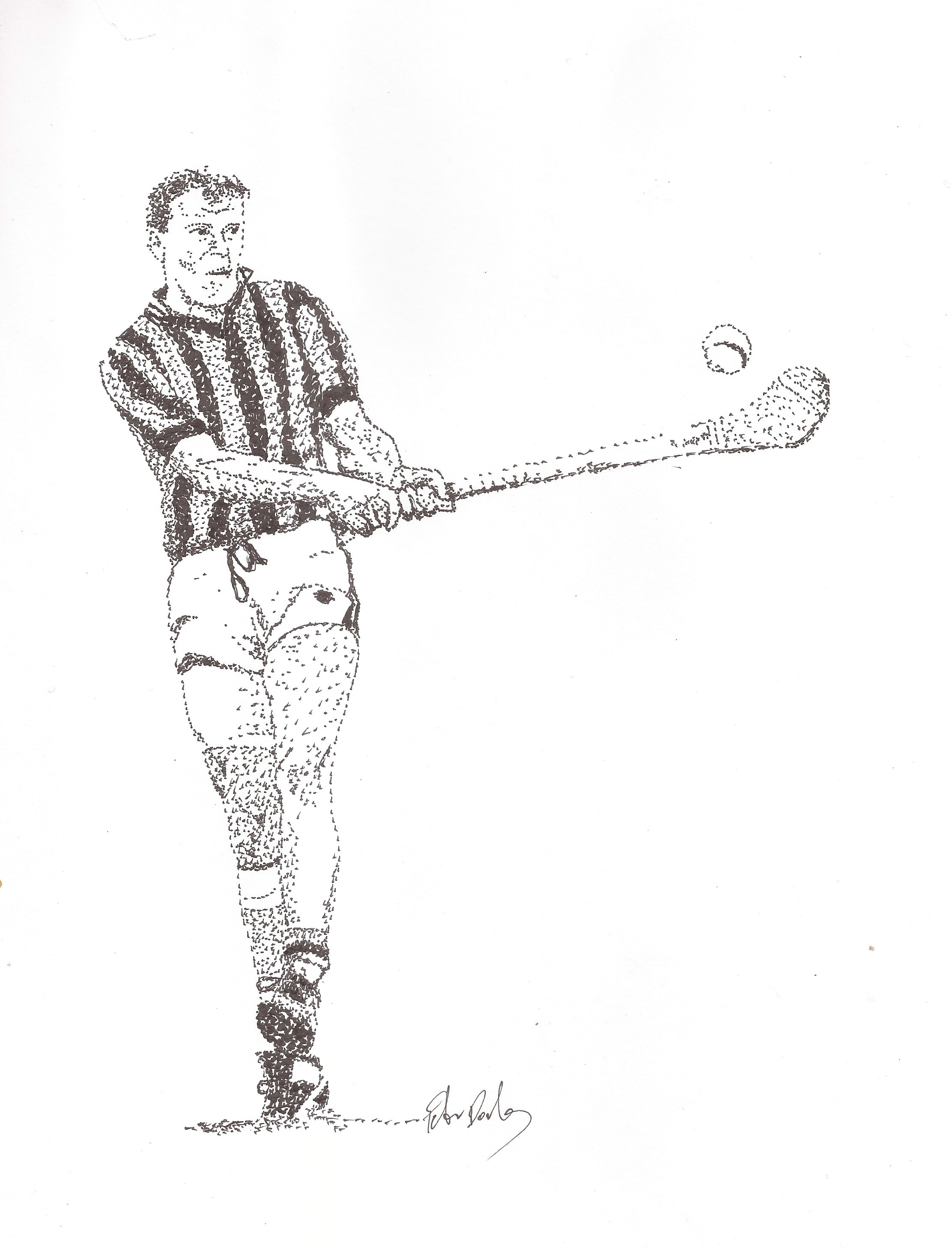 Fint Lalor was Captain of the first Camross team to win Laois Senior Hurling Championship in 1959.
