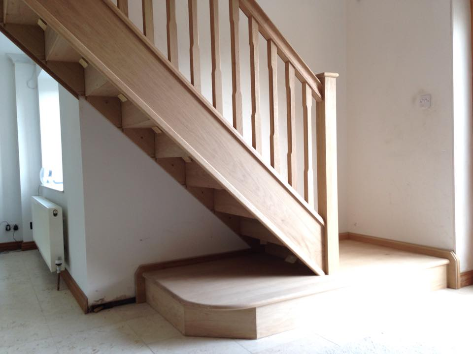 Front Elevation Of Dog Legged Staircase : Winder stairs staircase specialists dog leg trade