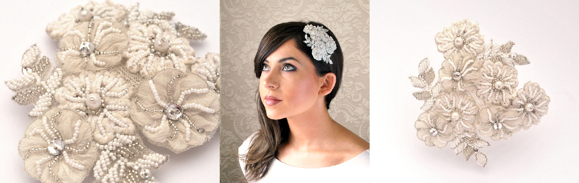 Be Bespoke Bridal Headpieces Ireland - Buy bridal headpieces online from the styled collections or have a custom piece of headwear designed