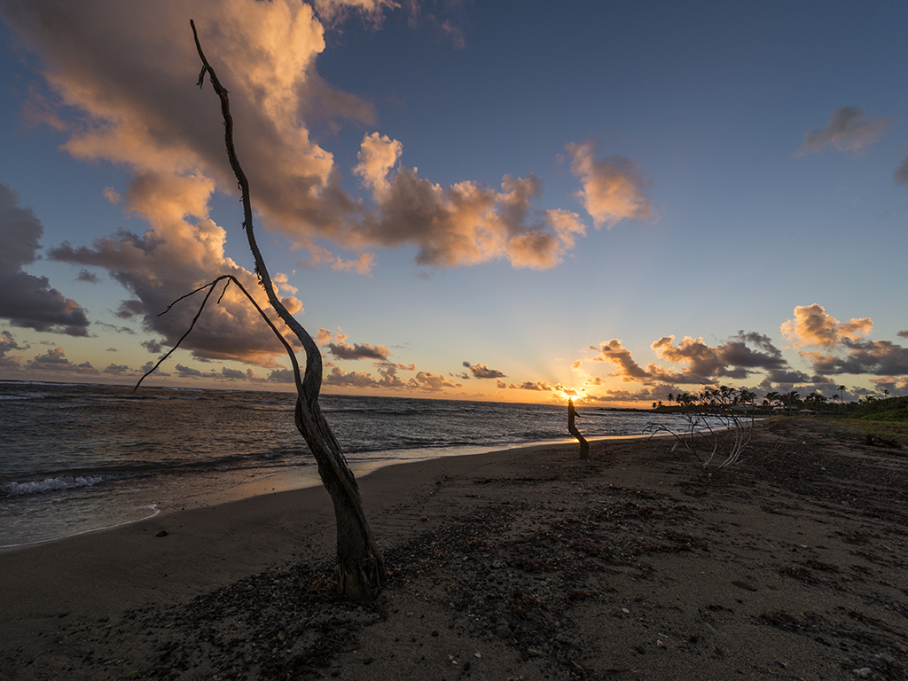 Sunrise at Long Haul Bay, Nevis, Caribbean