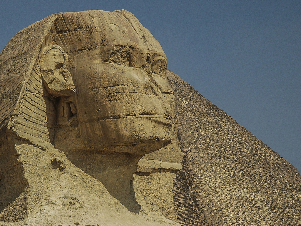 The Sphinx, Giza Necropolis, Cairo, Egypt