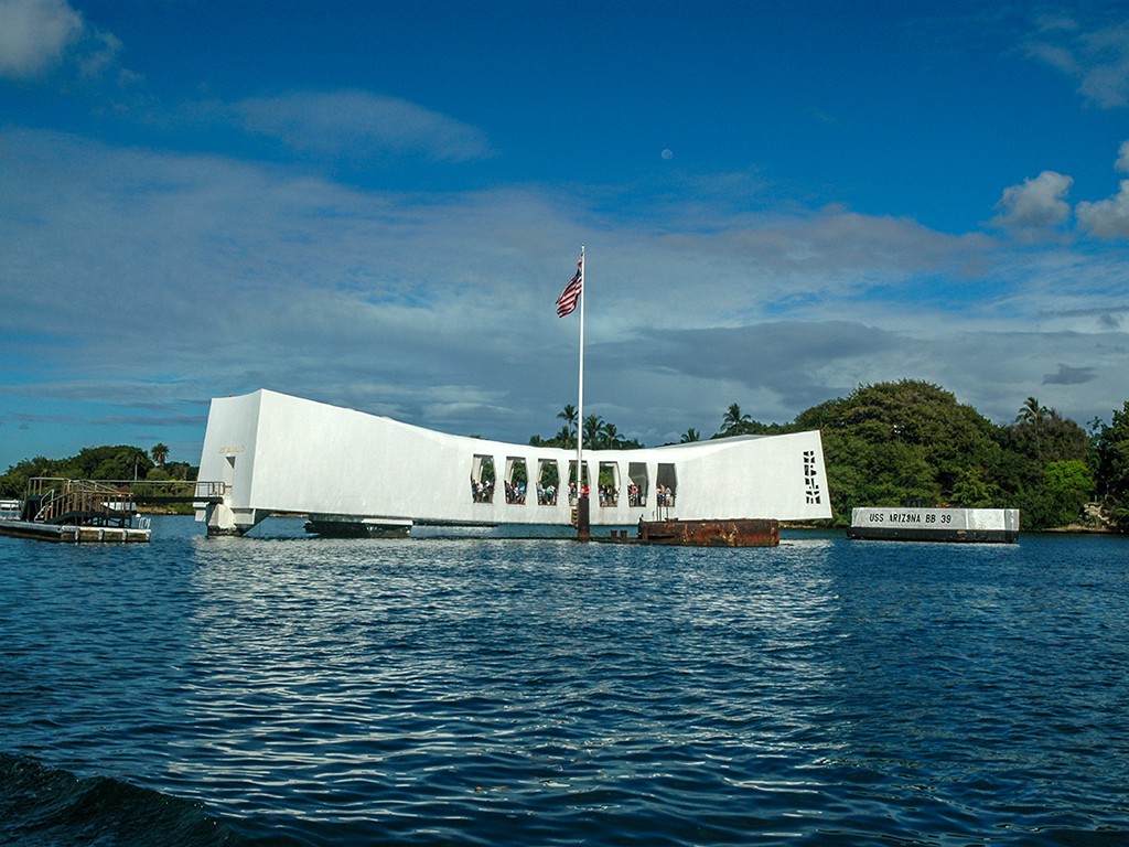Arizona Memorial, Pearl Harbor, Hawaii