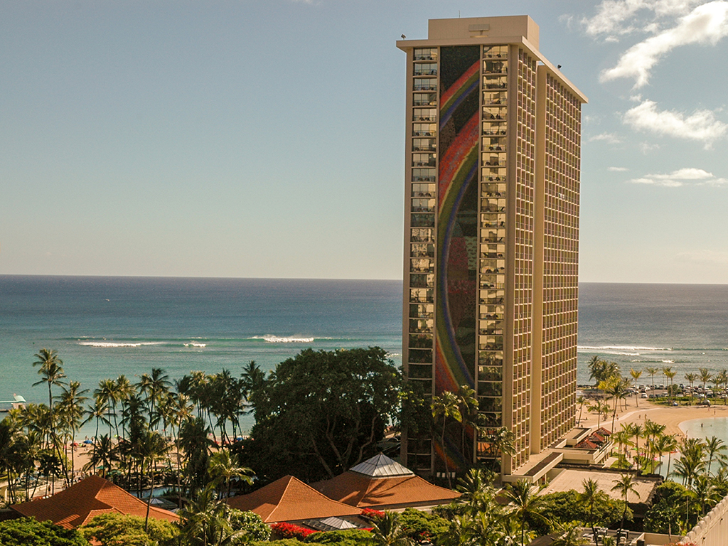 Hilton Rainbow Tower, Honolulu, Hawaii