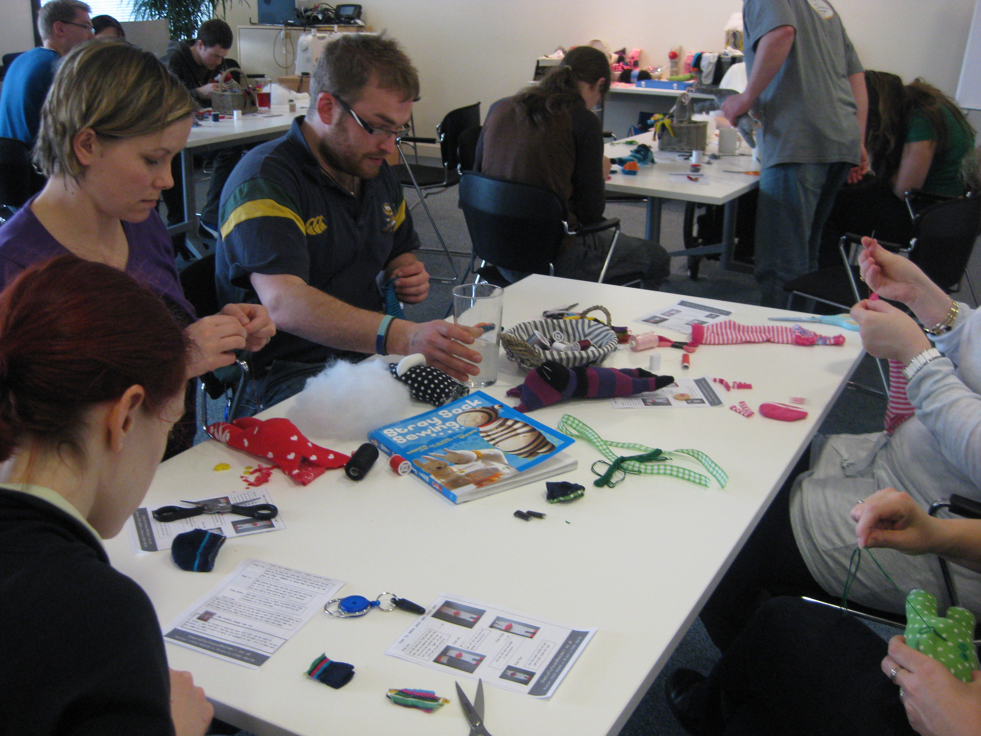 Redgate software firm making sock pets!