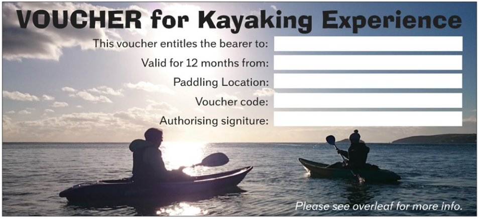Gift Voucher for Kayaking Experience