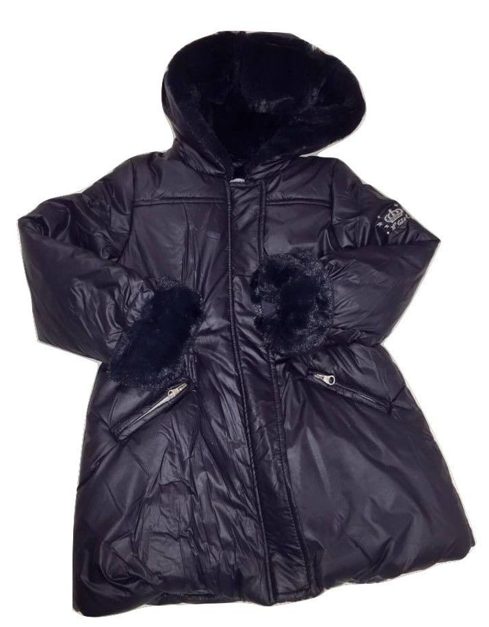 3pommes girls navy parka(SALE!)