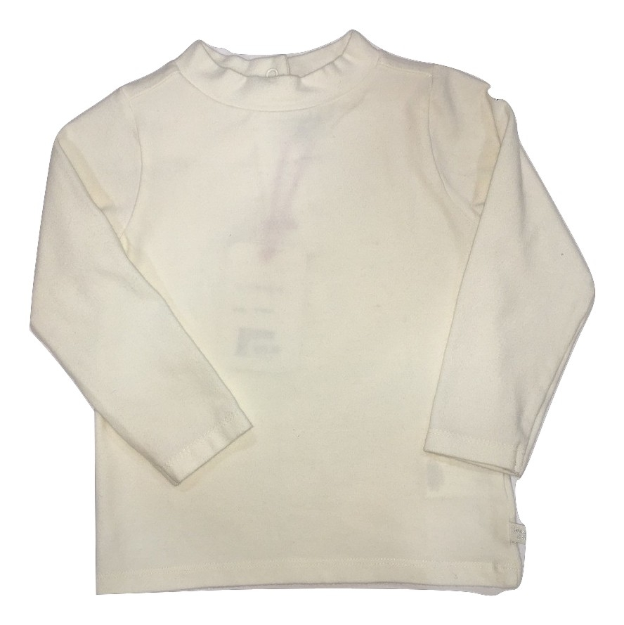 Weekend a la mer girls cream top(SALE)