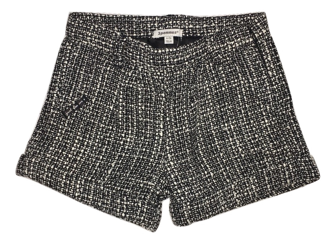 3pommes girls black shorts (SALE!)