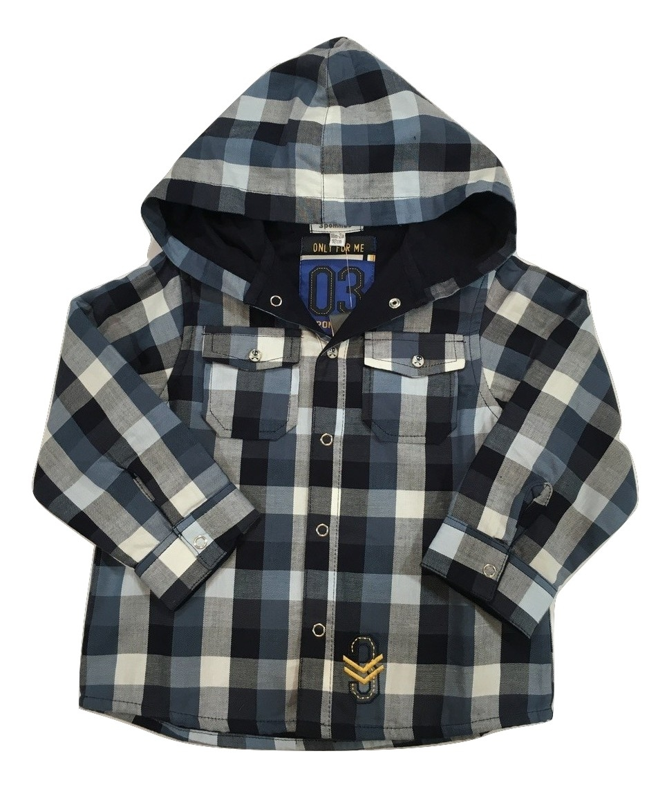 3pommes boys navy overshirt(SALE)