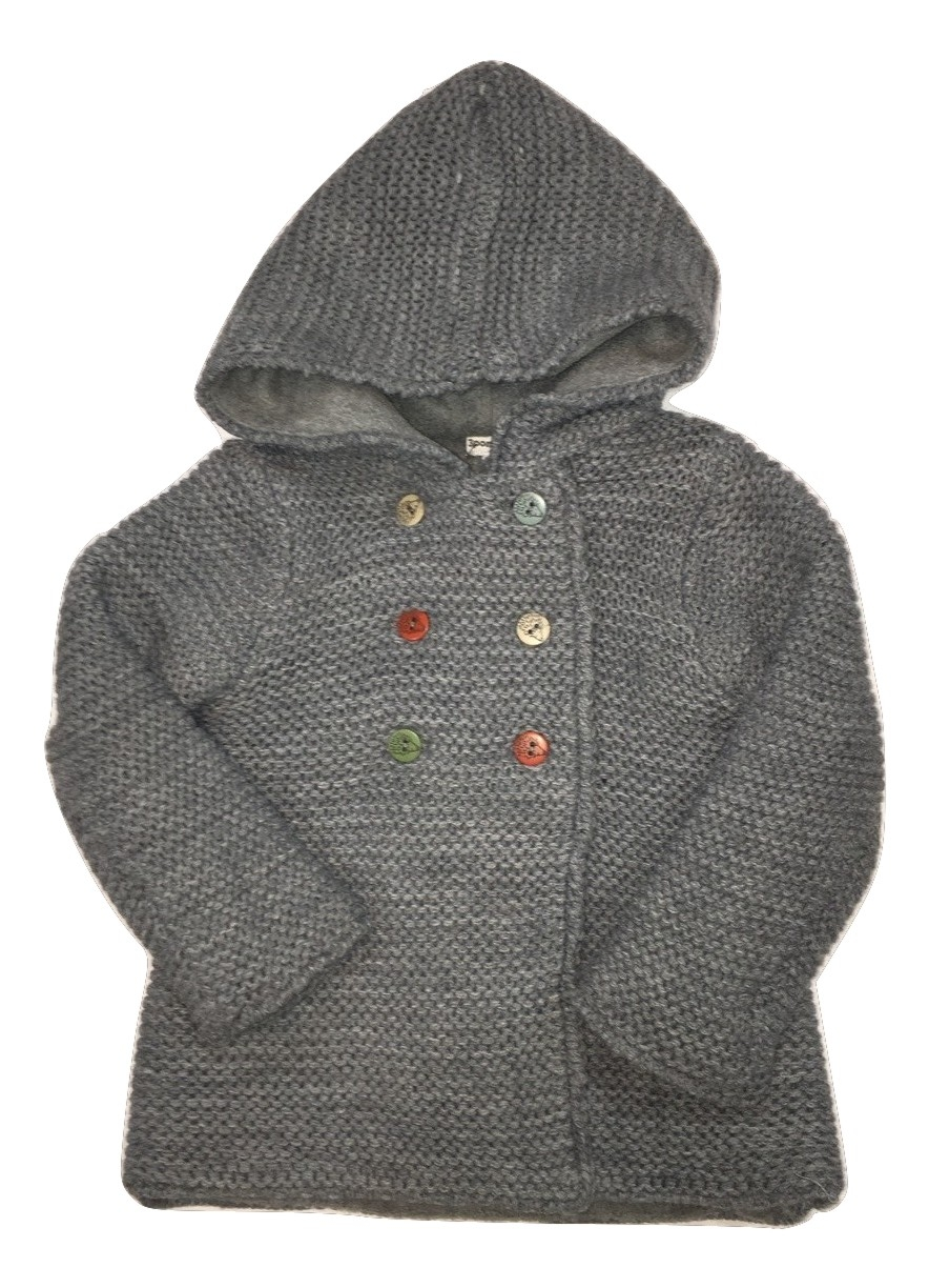 3pommes boys grey cardigan(SALE!)