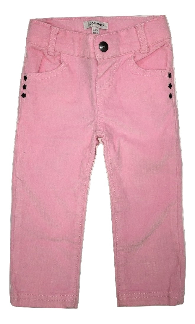 3pommes girls light pink trouser