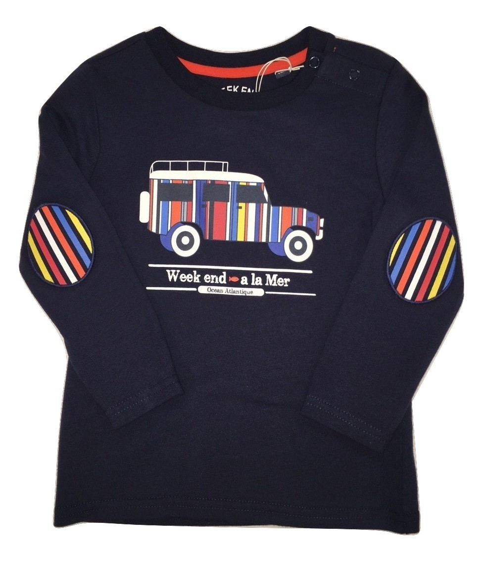 Weekend a la mer boys navy t-shirt(SALE!)