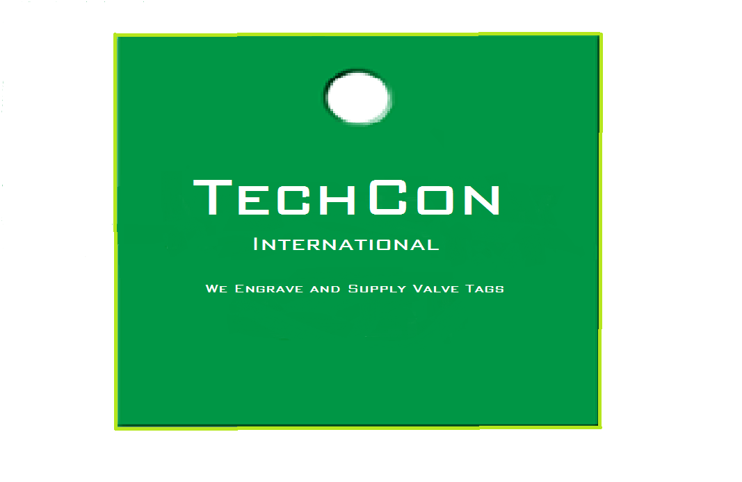 TechCon Essential Square Valve Tags