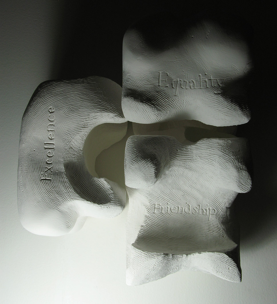 2009, Carved plaster