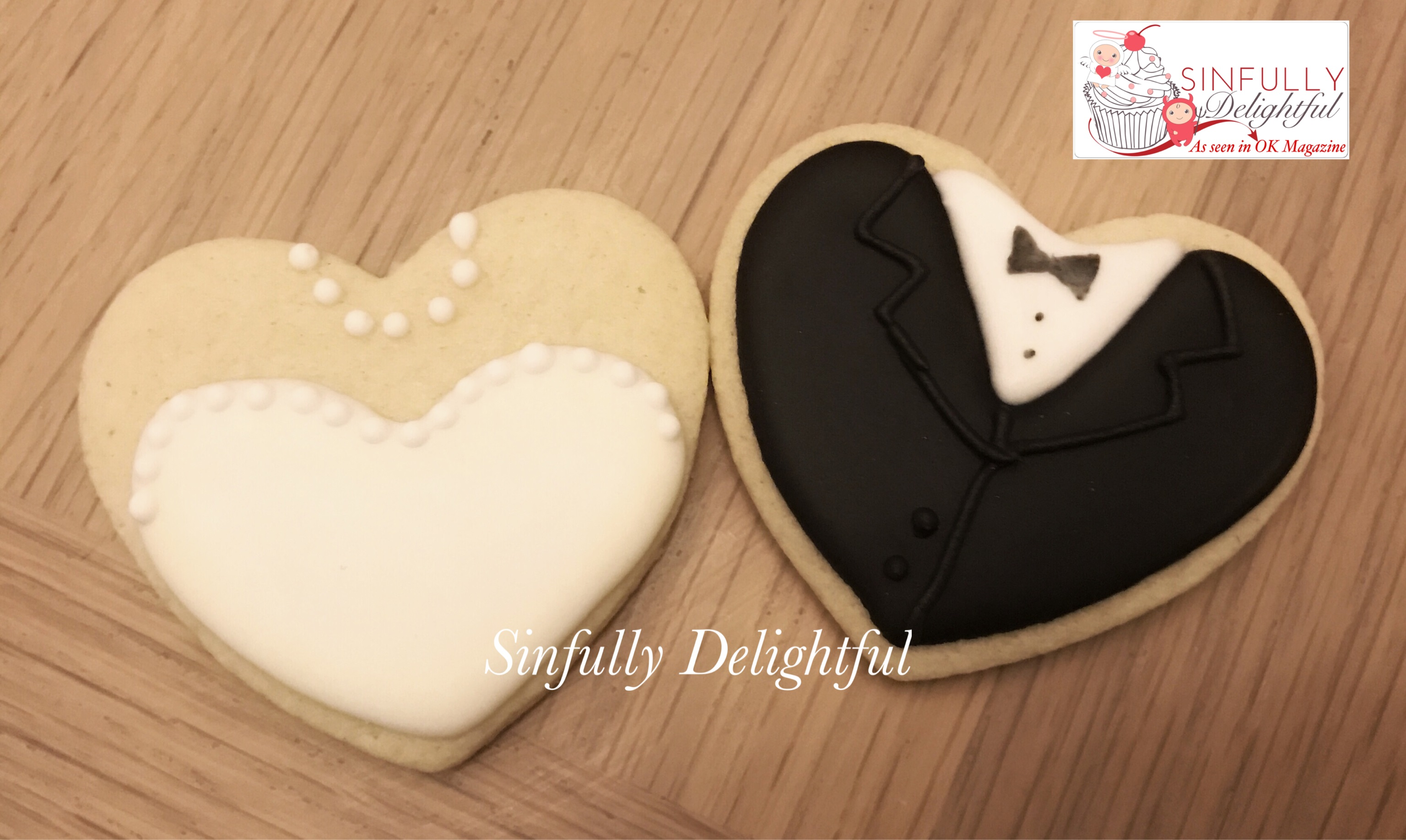 Bride and Groom Biscuits