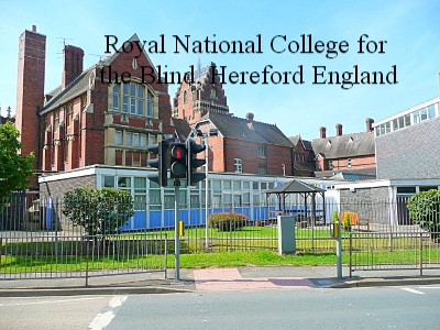 Royal National College for the Blind Hereford England