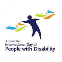 International Day of People with Disability is 3rd December.