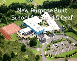 New Modern Building Jordanstown Schools for the Blind and Deaf