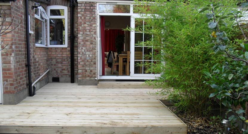 Decking design fencing design landscape gardening for Garden decking north london