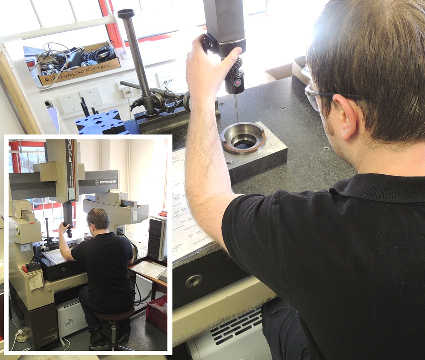 Precision Quality Check at Wetherby Engineers