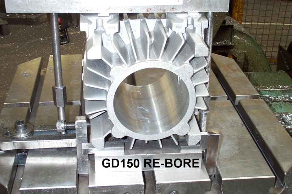 Casting and re-bore example