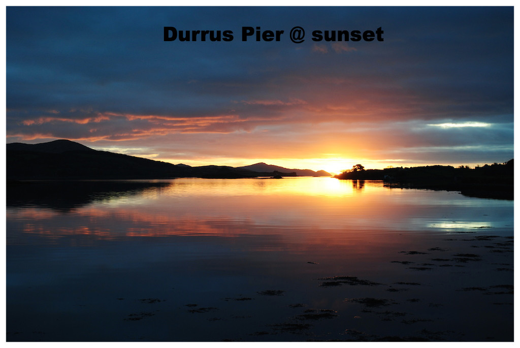 Sunset @ Durrus pier